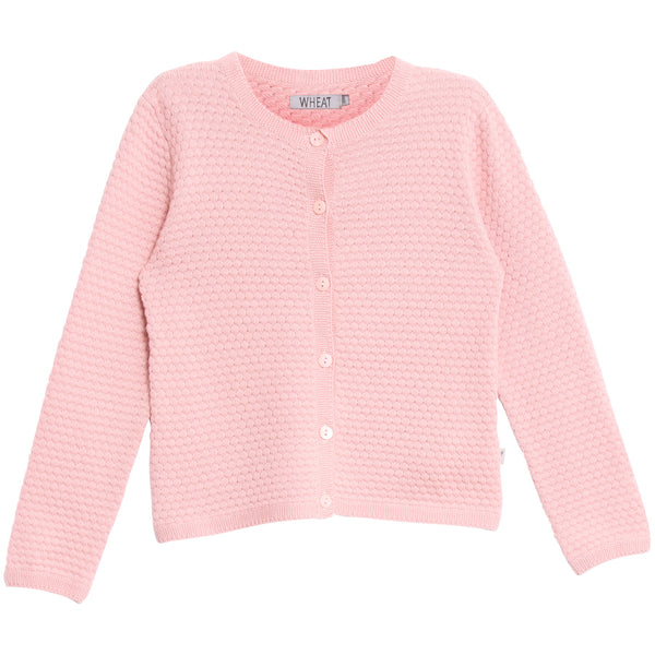 Wheat Betty Knit Cardigan | Soft Rose