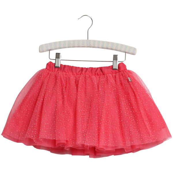 Wheat Skirt Manola | Claret Red