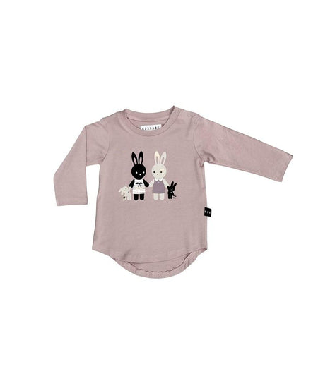 Huxbaby T-Shirt | Bunny Bear | White