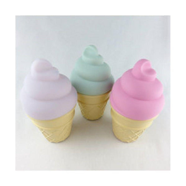 Delight Decor Ice Cream Light Up | Strawberry-BubandBoo