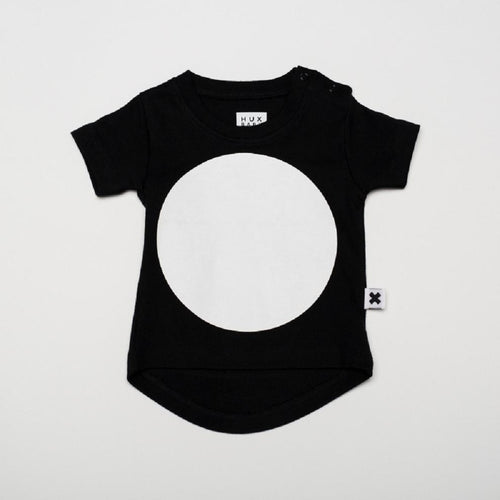 Huxbaby big dot drop back t-shirt