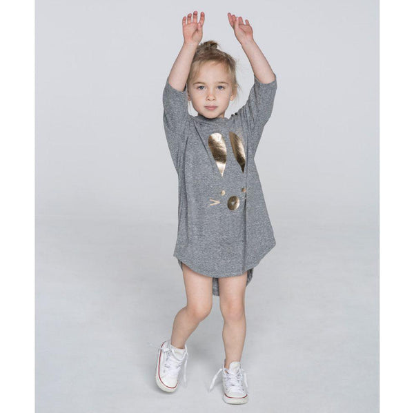 Huxbaby Drop Back Smock Dress | Hux Bunny-BubandBoo