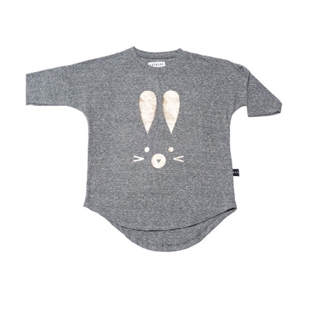 Huxbaby Long Sleeve T-Shirt | Bunny | Plum