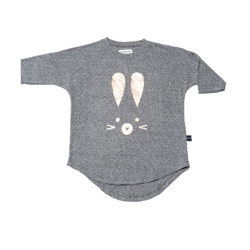 Huxbaby hux bunny drop back smock dress