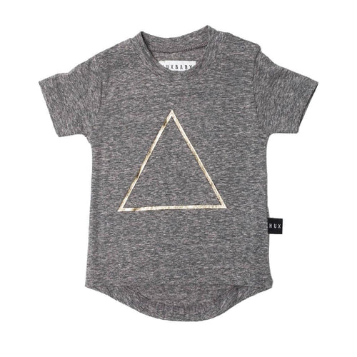 Huxbaby triangle drop back t-shirt