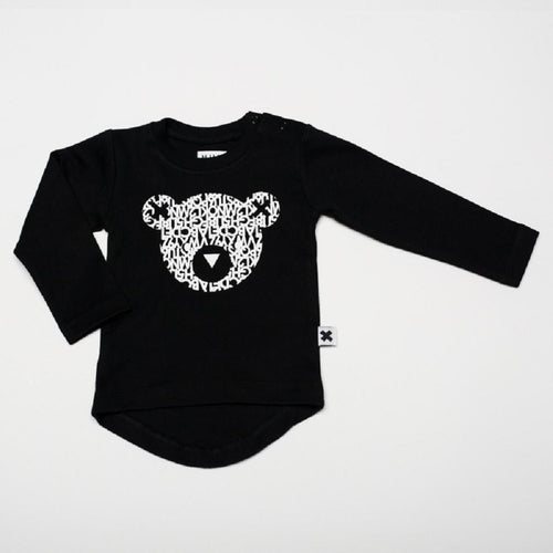 Huxbaby alpha bear drop back top