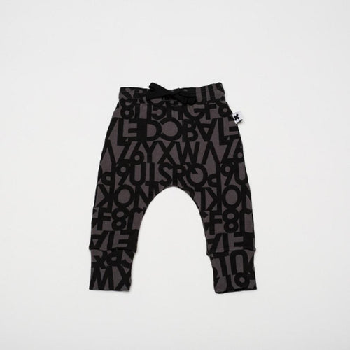 Huxbaby alphabet drop crotch pant