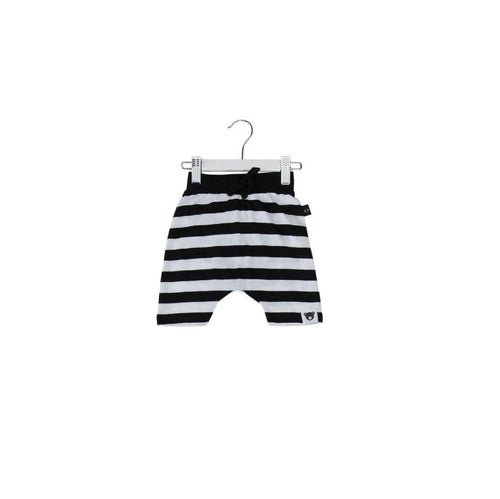 Huxbaby stripe drop crotch shorts