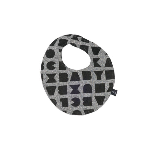 Huxbaby block/mini hux reversible bib