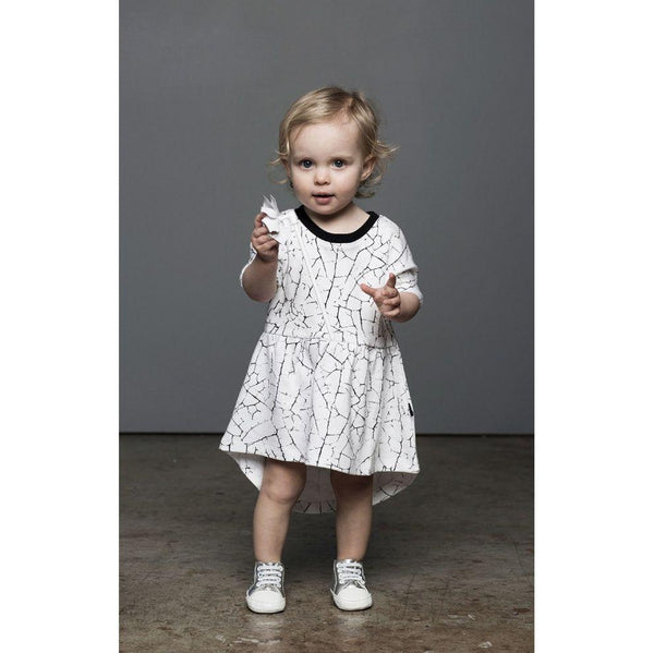Huxbaby Swirl Dress | Paint Crack-BubandBoo