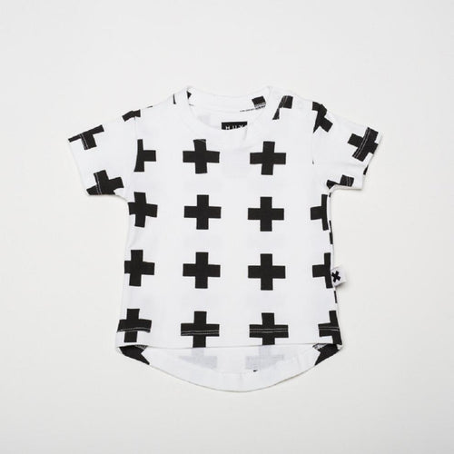Huxbaby crosses drop back t-shirt