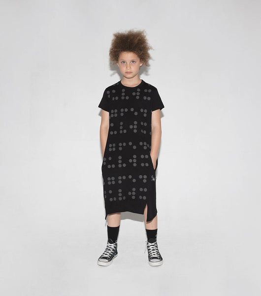 NUNUNU A Dress | Black | Braille