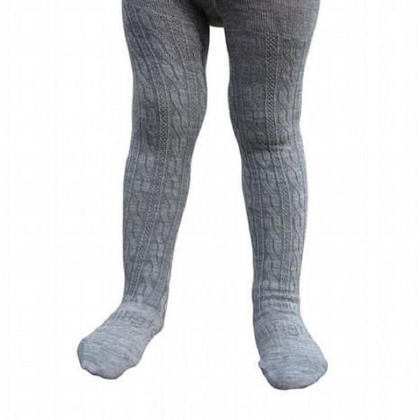 Lamington | Tights | Grey Cable-BubandBoo