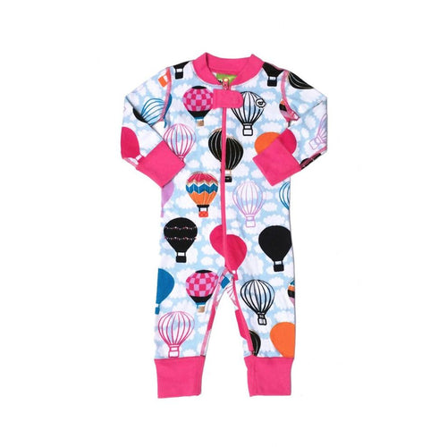 Moodie Onesie | Hot Air Balloon-BubandBoo
