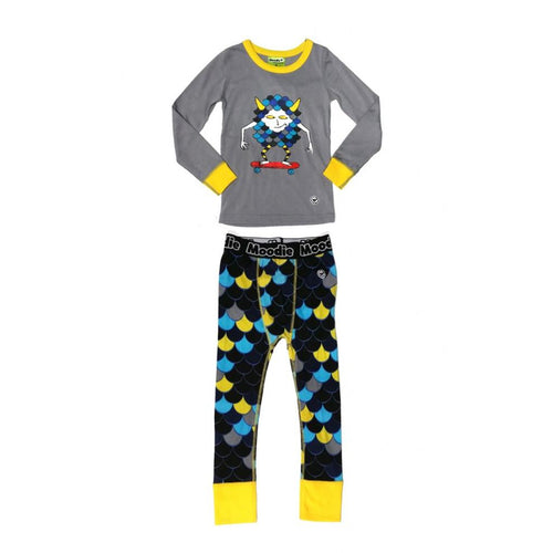 Moodie Pyjamas | Drop Crotch Pant | Monster Skateboard-BubandBoo