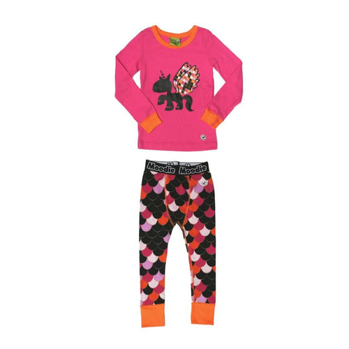 Moodie Pyjamas | Drop Crotch Pant | Unicorn-BubandBoo