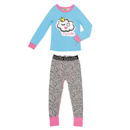 Moodie Pyjamas | Drop Crotch Pant | Winky Cloud-BubandBoo