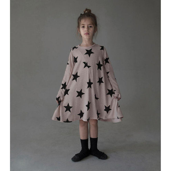 NUNUNU 360 Dress | Powder Pink | Star-BubandBoo
