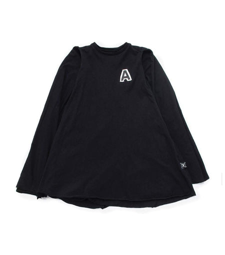 NUNUNU Quilt Shirt | Black