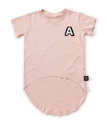 NUNUNU Circle T-Shirt | Powder Pink