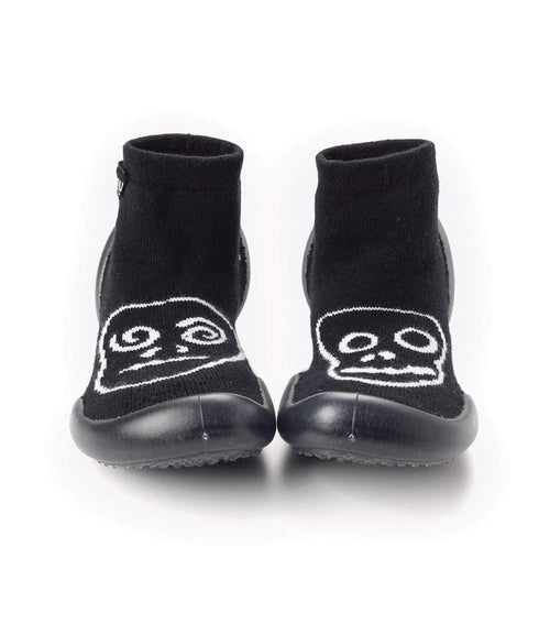 NUNUNU Slippers | Black | Skull Mask-BubandBoo