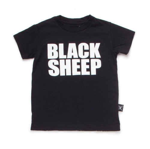 NUNUNU black blacksheep t-shirt