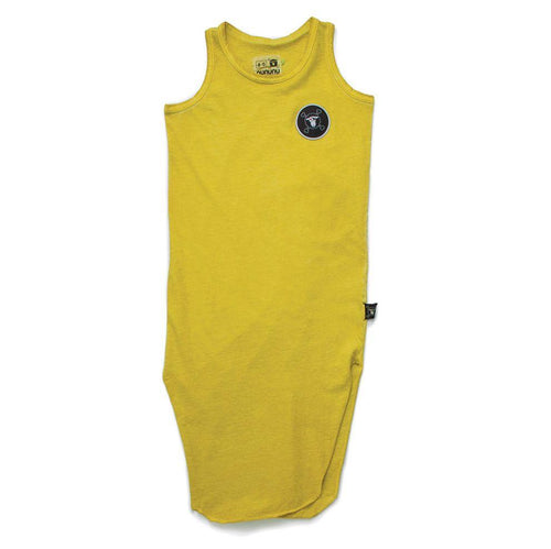 NUNUNU Dusty Yellow Maxi Tank Dress