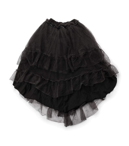 NUNUNU Circle Skirt | Black