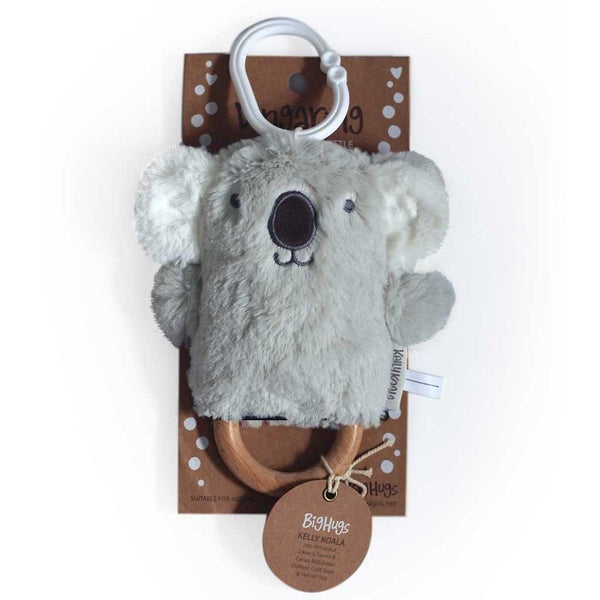 OB Designs Dingaring Teething Rattle | Kelly Koala-BubandBoo