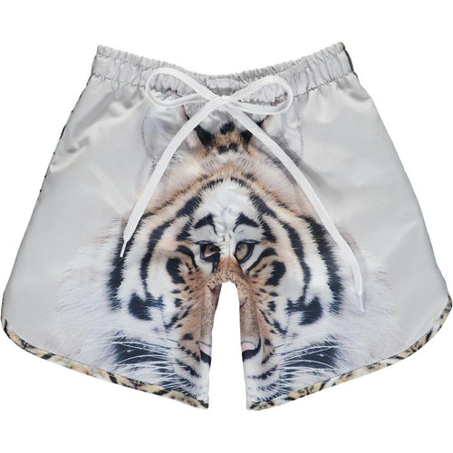 Popupshop Long Swim Shorts | Tiger-BubandBoo