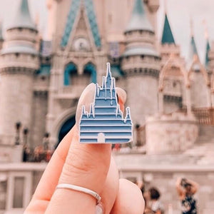 Retro Castle Pin