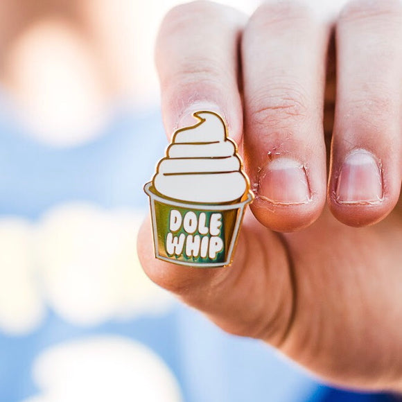 Disney Parks Inspired Dole Whip Pin