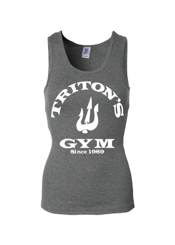 Disney Inspired Little Mermaid Triton's Gym Women's Tank