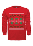 Disney Inspired Ugly Christmas Long Sleeve Sweater