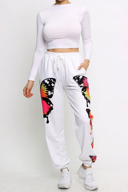 Butterfly Joggers - SLAYVE to style