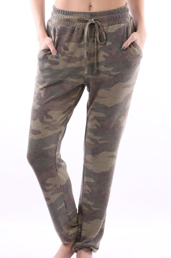 Camo Comfy Joggers - SLAYVE to style (4591451242543)