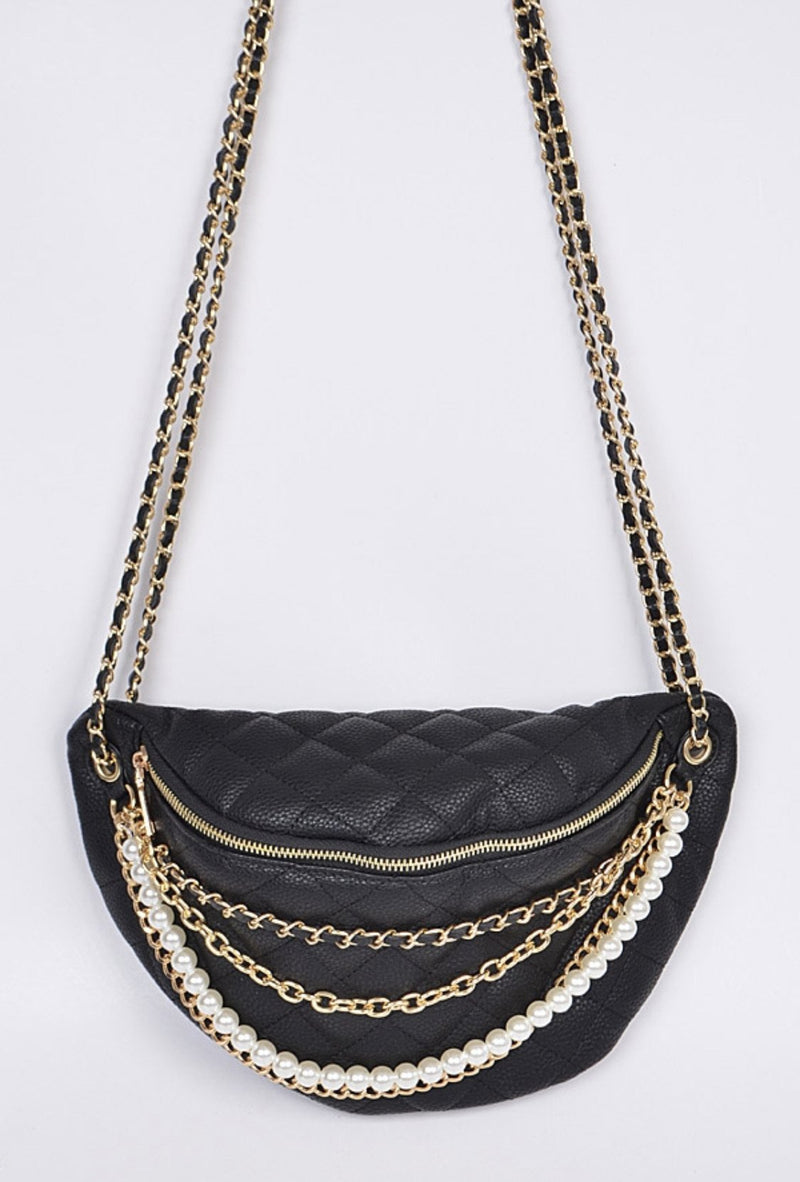 Chained To Me Crossbody - SLAYVE to style (4412372549679)