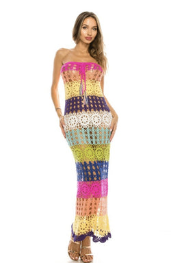 Colors Of Love Dress - SLAYVE to style