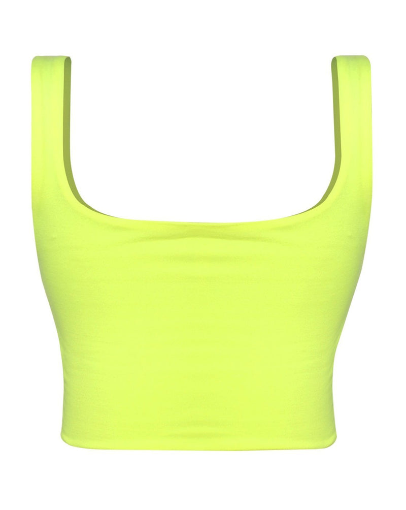Dont't be a Square Top - Neon - SLAYVE to style (4534078734383)
