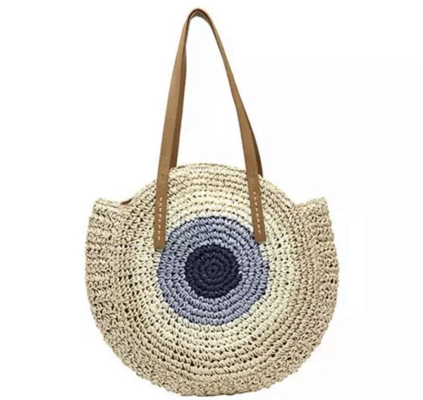 Evil Eye Beach Bag - SLAYVE to style