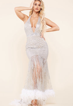 Feather Fairy Gown - SLAYVE to style (4292455727127)