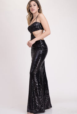 Ice Princess Gown - Black - SLAYVE to style (3481279102999)