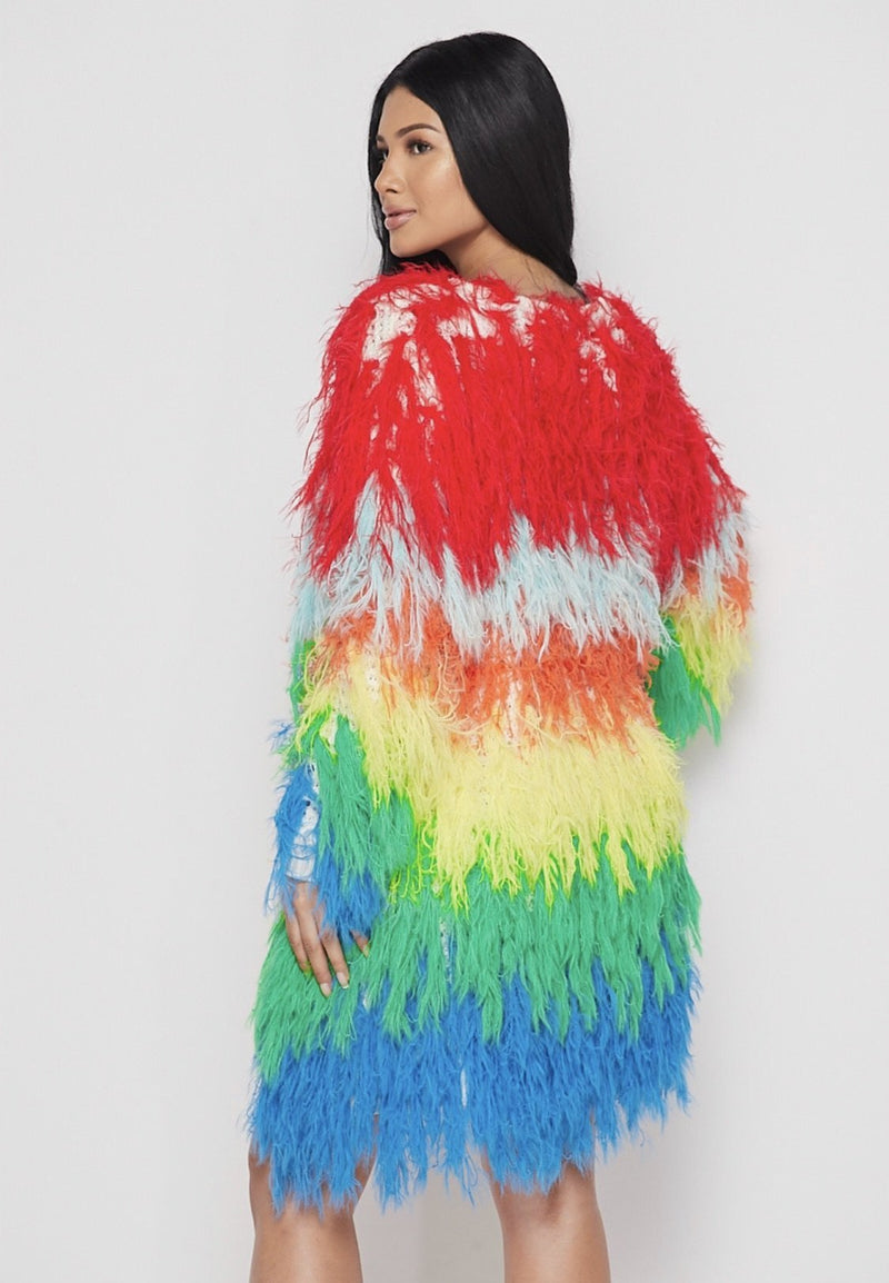 Rainbow Reign Shaggy Sweater - SLAYVE to style (3963944861719)
