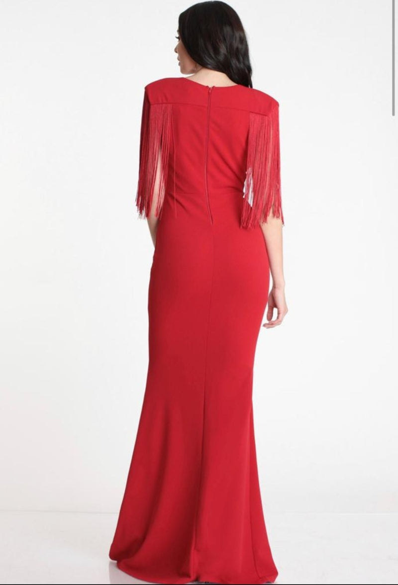 Requiem Red Gown - SLAYVE to style (3942540476439)