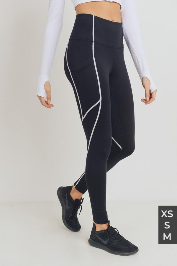 Tron Leggings - SLAYVE to style (4425667412015)