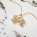 Arianna Monogram NecklaceTSH Jewelry