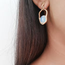 Aria - Opalite earrings