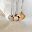Sonogram Heart Necklace