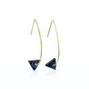 Amalia - Lapis Lazuli Earrings