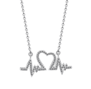 Heart Skips a Beat Necklace with CardTSH Jewelry